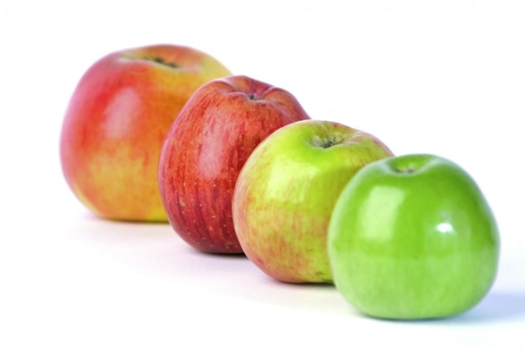 pommes dans sa recette